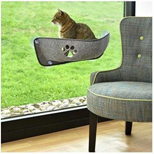 BOBBY BALKAN HAMMOCK WITH SUCTION CUP FOR CATS AND CAT BED - GREY