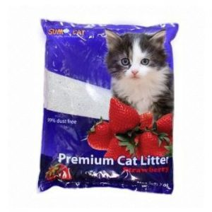 Sumo Cat Premium Cat Litter STREWBERRY 10 L