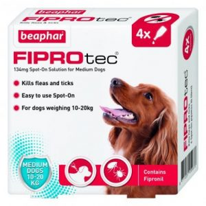 FIPROTEC FOR MEDIUM DOG - 4 PIPETTES