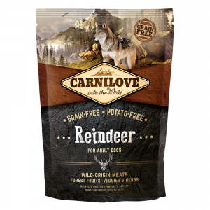 Carnilove Reindeer For Adult Dogs 1.5kg